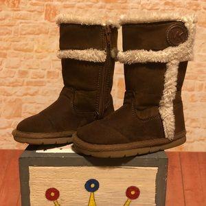 Michael Kors MK Toddler Boots size 7 EUC
